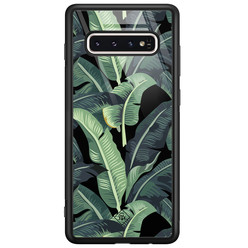 Casimoda Samsung Galaxy S10 glazen hardcase - Bali vibe