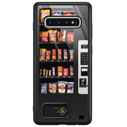 Casimoda Samsung Galaxy S10 glazen hardcase - Snoepautomaat