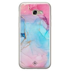 Casimoda Samsung Galaxy A5 2017 siliconen hoesje - Marble colorbomb