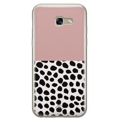 Casimoda Samsung Galaxy A5 2017 siliconen hoesje - Pink dots