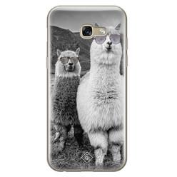 Casimoda Samsung Galaxy A5 2017 siliconen hoesje - Llama hipster