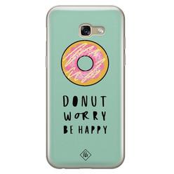Casimoda Samsung Galaxy A5 2017 siliconen hoesje - Donut worry