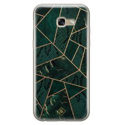 Casimoda Samsung Galaxy A5 2017 siliconen hoesje - Abstract groen