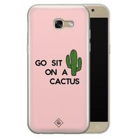 Casimoda Samsung Galaxy A5 2017 siliconen hoesje - Go sit on a cactus