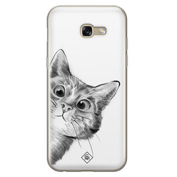 Casimoda Samsung Galaxy A5 2017 siliconen hoesje - Peekaboo