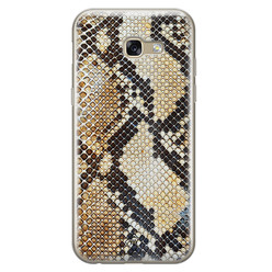 Casimoda Samsung Galaxy A5 2017 siliconen hoesje - Golden snake