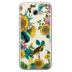 Casimoda Samsung Galaxy A5 2017 siliconen hoesje - Sunflowers