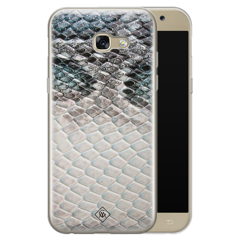 Casimoda Samsung Galaxy A5 2017 siliconen hoesje - Oh my snake