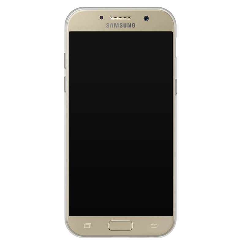 Casimoda Samsung Galaxy A5 2017 siliconen hoesje - Marmer triangles