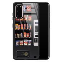 Casimoda Samsung Galaxy S20 glazen hardcase - Snoepautomaat