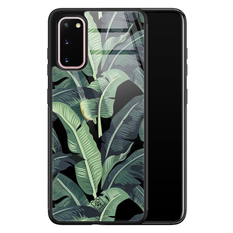 Casimoda Samsung Galaxy S20 glazen hardcase - Bali vibe