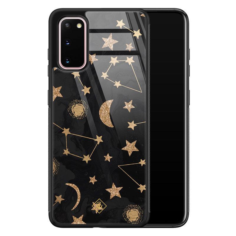 Casimoda Samsung Galaxy S20 glazen hardcase - Counting the stars