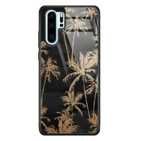 Casimoda Huawei P30 Pro glazen hardcase - Palmbomen