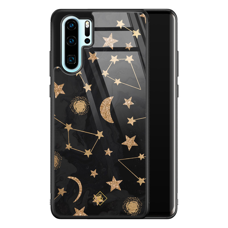 Casimoda Huawei P30 Pro glazen hardcase - Counting the stars