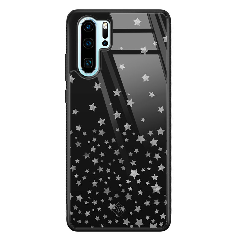 Casimoda Huawei P30 Pro glazen hardcase - Falling stars