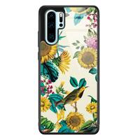 Casimoda Huawei P30 Pro glazen hardcase - Sunflowers