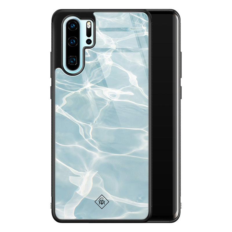 Casimoda Huawei P30 Pro glazen hardcase - Oceaan
