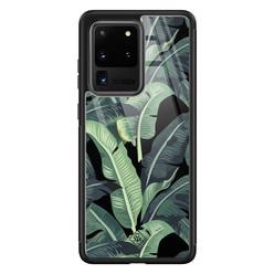 Casimoda Samsung Galaxy S20 Ultra glazen hardcase - Bali vibe