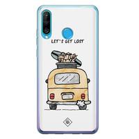 Casimoda Huawei P30 Lite siliconen hoesje - Let's get lost