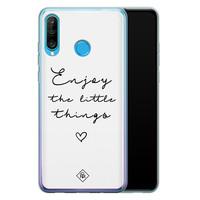 Casimoda Huawei P30 Lite siliconen hoesje - Enjoy life