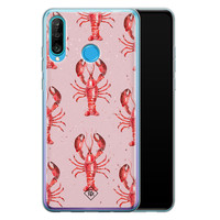 Casimoda Huawei P30 Lite siliconen telefoonhoesje - Lobster all the way