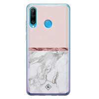 Casimoda Huawei P30 Lite siliconen telefoonhoesje - Rose all day