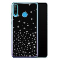 Casimoda Huawei P30 Lite siliconen hoesje - Falling stars