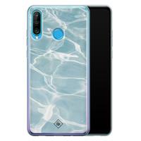 Casimoda Huawei P30 Lite siliconen hoesje - Oceaan