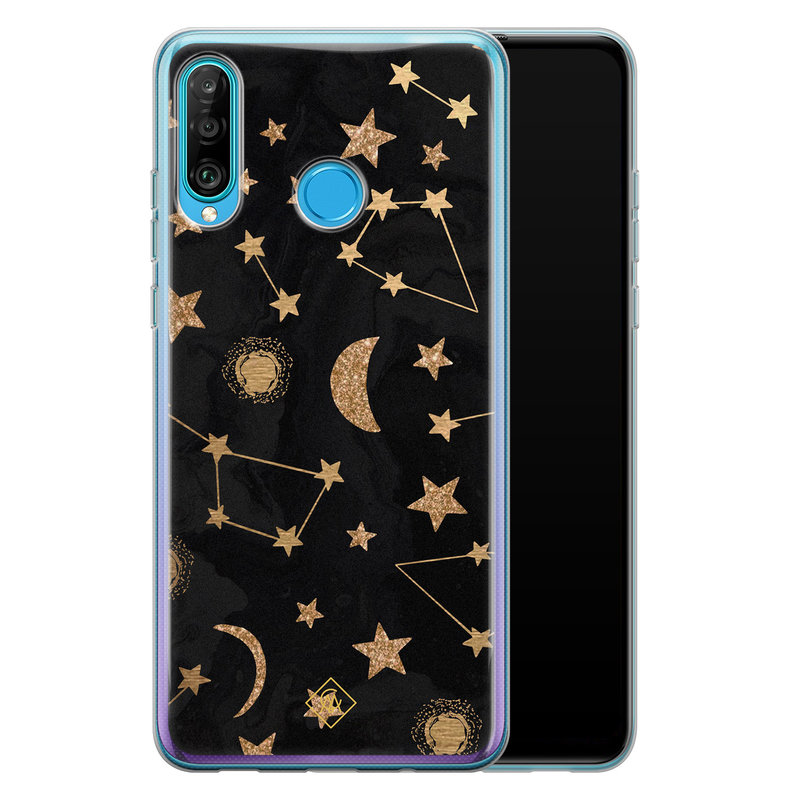 Casimoda Huawei P30 Lite siliconen hoesje - Counting the stars