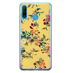 Casimoda Huawei P30 Lite siliconen hoesje - Floral days