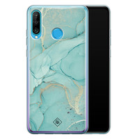 Casimoda Huawei P30 Lite siliconen hoesje - Touch of mint
