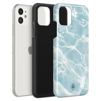Casimoda iPhone 11 rondom bedrukt hoesje - Island vibes