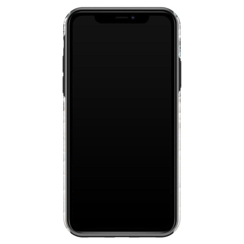 Casimoda iPhone 11 rondom bedrukt hoesje - Oh my snake
