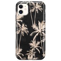 Casimoda iPhone 11 rondom bedrukt hoesje - Sweet palms