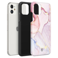 Casimoda iPhone 11 rondom bedrukt hoesje - Purple sky