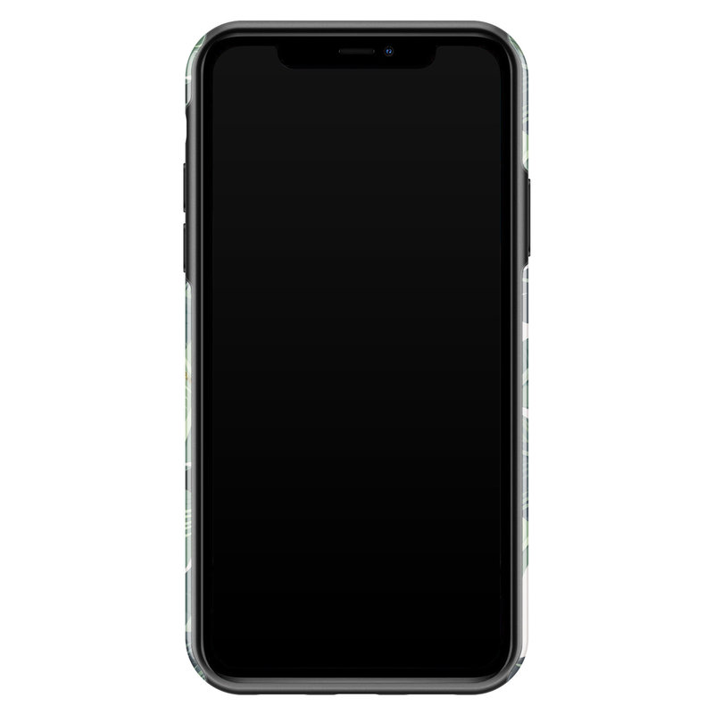 Casimoda iPhone 11 rondom bedrukt hoesje - Jungle