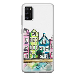 Casimoda Samsung Galaxy A41 siliconen hoesje - Amsterdam