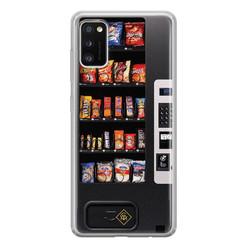 Casimoda Samsung Galaxy A41 siliconen hoesje - Snoepautomaat