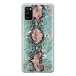 Casimoda Samsung Galaxy A41 siliconen hoesje - Snake pastel