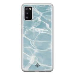 Casimoda Samsung Galaxy A41 siliconen hoesje - Oceaan