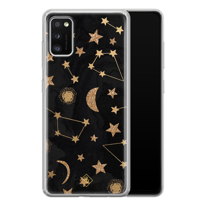 Casimoda Samsung Galaxy A41 siliconen hoesje - Counting the stars