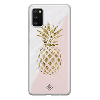 Casimoda Samsung Galaxy A41 siliconen hoesje - Ananas