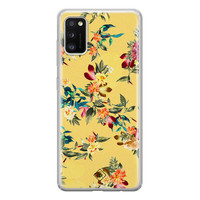 Casimoda Samsung Galaxy A41 siliconen hoesje - Floral days