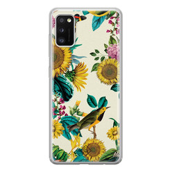 Casimoda Samsung Galaxy A41 siliconen hoesje - Sunflowers