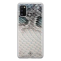 Casimoda Samsung Galaxy A41 siliconen hoesje - Oh my snake