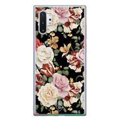 Casimoda Samsung Galaxy Note 10 Plus siliconen hoesje - Flowerpower