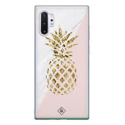 Casimoda Samsung Galaxy Note 10 Plus siliconen hoesje - Ananas