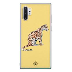 Casimoda Samsung Galaxy Note 10 Plus siliconen hoesje - Leo wild