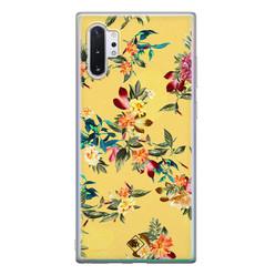Casimoda Samsung Galaxy Note 10 Plus siliconen hoesje - Floral days