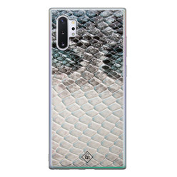 Casimoda Samsung Galaxy Note 10 Plus siliconen hoesje - Oh my snake